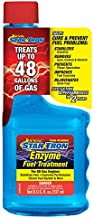Star Tron Enzyme Fuel Treatment - Regular Gas Formula 8 oz - Treats 48 Gallons