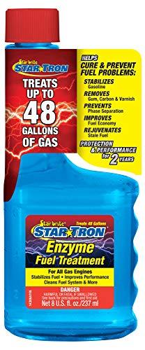 STAR BRITE Star Tron Enzyme Fuel Treatment SEF Gasoline Formula - 1 oz. Treats 6 Gallons - 8 OZ (14308SS)(FFP Certified)