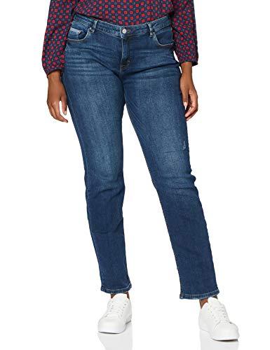 ESPRIT Women Stretch-Denim Jeans, 901/BLUE Dark WASH, 29W / 32L