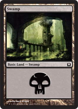 Magic: the Gathering - Swamp (264) - Return to Ravnica - Foil