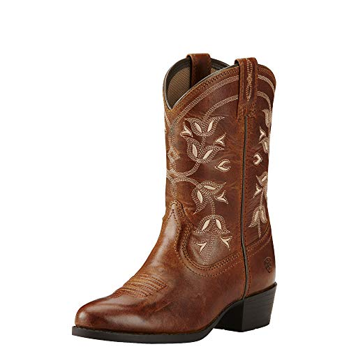 Kids' Desert Holly Western Cowboy Boot, Coyote Brown, 3 M US Little Kid