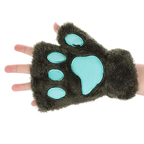 Mitones invierno guantes mujer guantes peluche Gloves