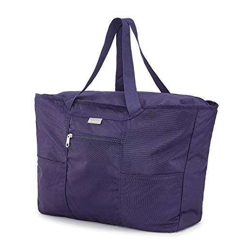Samsonite Foldaway Packable Tote Sling Bag, Evening Blue, One Size