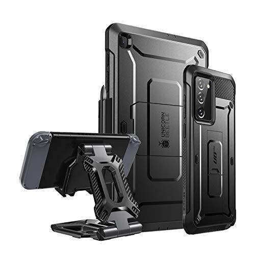 SUPCASE Unicorn Beetle Pro Bundle - Note20, Galaxy Tab S6 Lite & Desk Stand
