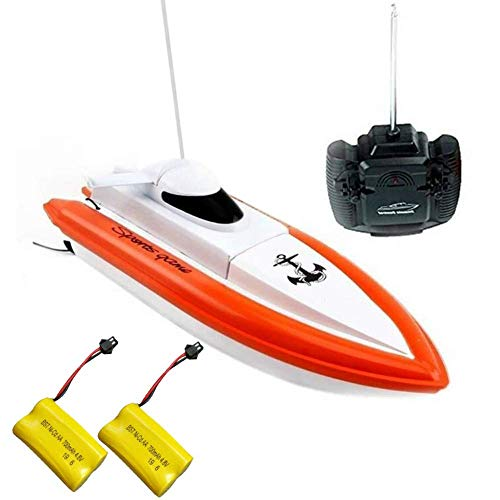 TOYEN RC Boat for Adults & Kids High-Speed Electronic Remote Control Racing Boat Indoor/Outdoor for Pools and Lakes