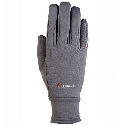 Roeckl Sports Winter Handschuh Warwick Unisex Reithandschuh, Anthrazit, 8