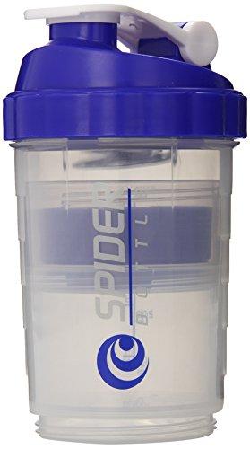 Spider Bottle - SpiderMix Mini2 Go Shaker Bottle Clear Blue - Scale:...