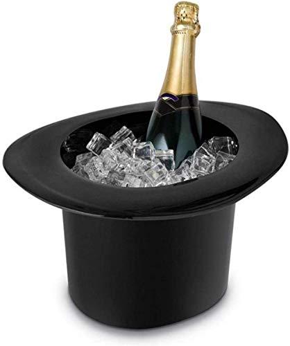 Cubo de hielo en forma de sombrero 1.2LChampagne Botella de vino Enfriador Cubos Enfriadores Soportes Barware