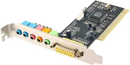 Sabrent SBT-SP6C 6-Channel 5.1 Surround Sound 3D PCI Sound Card
