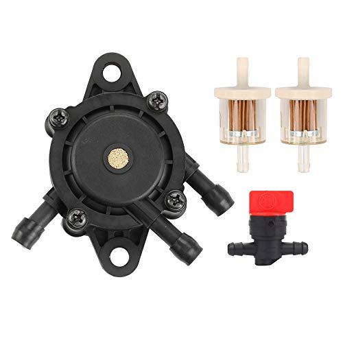 16700-Z0J-003 Fuel Pump with Fuel Filter Fuel Shut Off Valve for Briggs and Stratton 807429 491922 Kawasaki 49040-7001 Kohler 24 393 04-S 24 393 16-S Engine Honda GX620 16700-Z0J-003