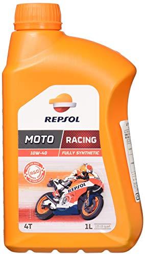 REPSOL Moto Racing 4T 10W-40 Aceite De Motor Para Moto, 1l