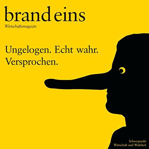 brand eins audio: Wirtschaft und Wahrheit audiobook cover art