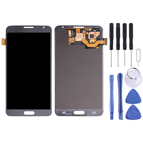 CAPOOK -LCD Display + Touch Panel for Galaxy Note 3 Neo/Lite N750 / N7505(Grey) DIY (Color : Grey)