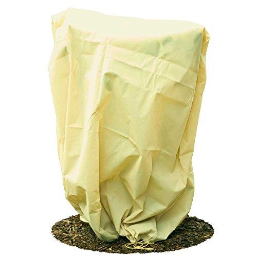 HaGa® Frostschutzhaube Winterschutz Frostschutzvlies 80g/m² 155cmx150cm beige