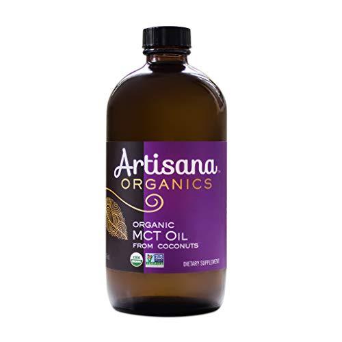 Artisana Organics MCT Oil from Coconuts, USDA Certified Organic MCT Oil (1, 16.1 fl oz bottle)