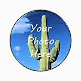 Jumbo Golf Ball Marker - Large Silver Poker Chip Sized Ball Maker - Over 1.5' Diameter Ball Marker Customized with Your Photo