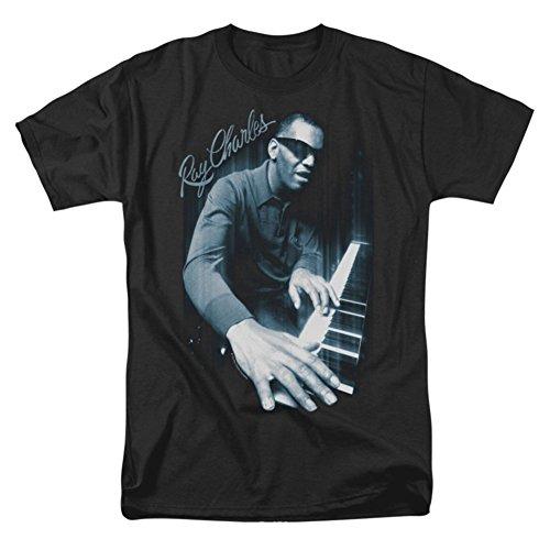 Ray Charles - Mens Blues Piano T-Shirt
