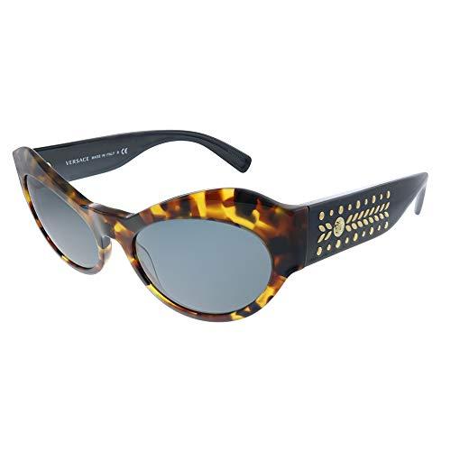 Versace 0VE4356 Gafas de sol, Havana, 54 para Mujer