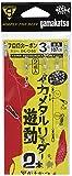 がまかつ(Gamakatsu) イカメタルリーダー 2本 遊動 IK046.