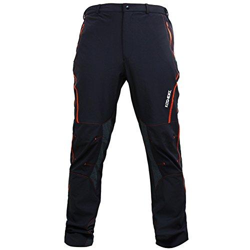 KORAMAN Herren Fahrrad Langarm Radhose/beiläufige Hosen/sehr leicht atmungsaktiv/für Sommer und Frühling (Farbe 2, S)