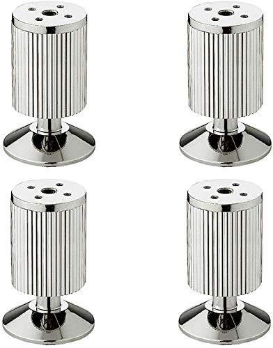 ADSE Patas de Soporte de Muebles de Metal Patas de sofá de Aluminio de 10 cm de Alto Patas de gabinete Patas de Mesa de Centro Baño Accesorios de Muebles de Cocina Un Paquete de 4