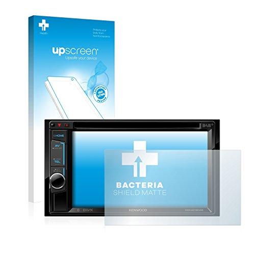 upscreen Antibakterielle Entspiegelungs-Schutzfolie kompatibel mit Kenwood DDX4016DAB - Anti-Reflex Displayschutzfolie matt, Anti-Fingerprint