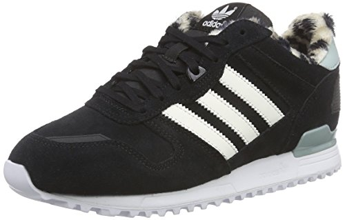 adidas Originals Damen ZX 700 Sneakers, Schwarz (Core Black/Off White/Mist Slate F15-St), 39 1/3 EU