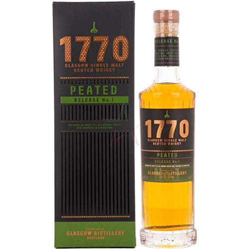 1770 Glasgow Scotch - Peated Single Malt Whisky (1 x 0.7l)