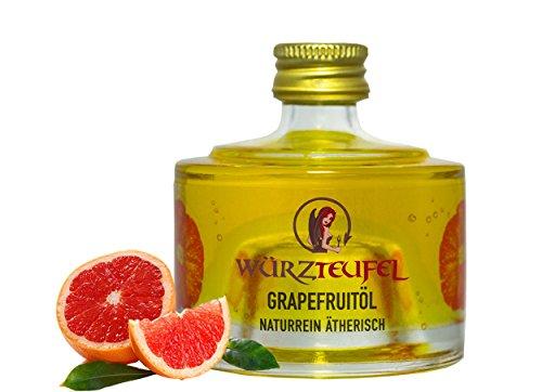 Grapefruitöl, Grapefruit - Öl aus Florida, naturrein, ätherisch. Hochwertigste Lebensmittelqualität. Flasche 40ml.