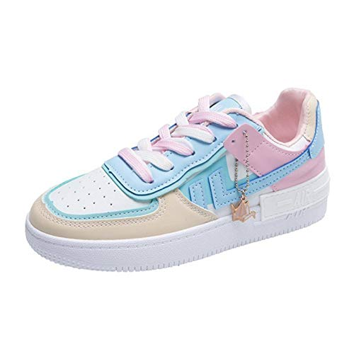 Little White Shoes Ladies 2020 New Students Autumn Breathable Single Shoes Flat Casual Board Shoes Thick Bottom Increase Fashion Trend