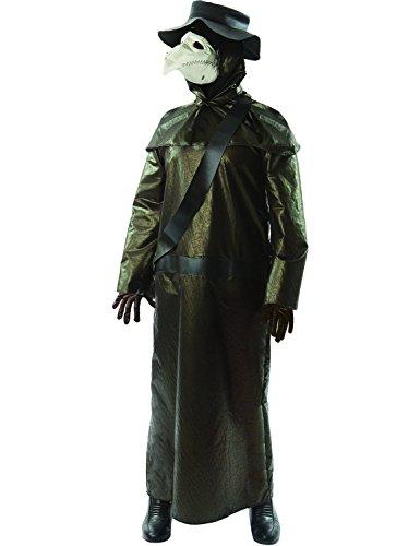 ORION COSTUMES Costume de déguisement d'Halloween de docteur pendant la peste au Moyen-Âge pour hommes