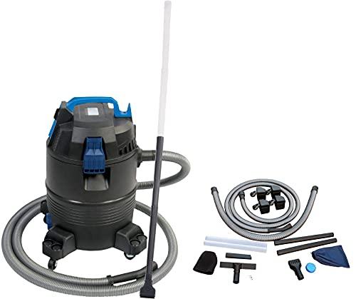 Aquaforte Pond Vacuum Cleaner Teich-, Nass-und Trockensauger, Schwarz