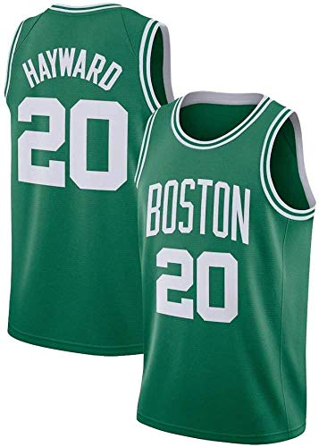 Baloncesto NBA Men's Jersey, Ray Allen 20# Boston Celtics Jerseys, NBA Basketball Jersey Cómoda Ropa Deportiva Camiseta,3,XXL (185~190CM/ 95~110KG)