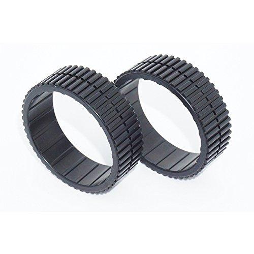 Braava 380t Reifen für Reinigungsroboter Reifen / Lauffläche / Räder / Gummi/320/321/375t/390t/Mint Plus 5200/4200/verfügbare Reifen/iRobot(1 Packung = 2 Stück) Reifen/Reifen/Profil/Rad/Gummi.