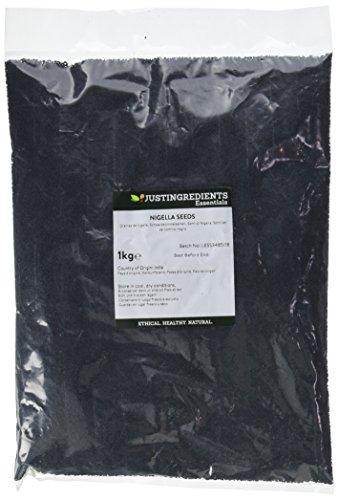 JustIngredients Essential Graines de nigelle (Nigella Seeds) 1kg