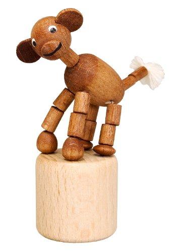 Knieldier aap wiebelfiguur zeep speelgoed hoogte 8 cm Ertsgebergte NIEUW