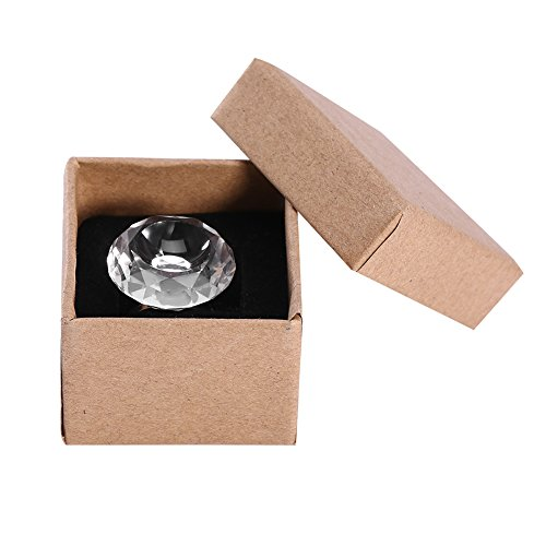 Support de bague de colle adhésif extension de cils, bague de support adhésif adhésif de colle cristal réutilisable Bague de support de palette pour greffe de faux cils(Transparent)
