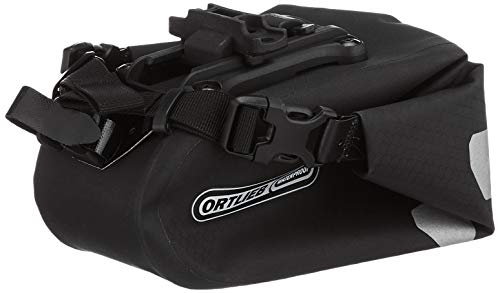 Ortlieb Unisex-Adult Saddle-Bag Two Bike, Black matt, One Size