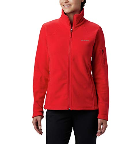 Columbia Damen Fast Trek II Fleece-jacke, Rot (Red Lily), XS
