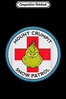 Composition Notebook: Grinch Mount Crumpit Snow Patrol Journal/Notebook Blank Lined Ruled 6x9 100 Pages