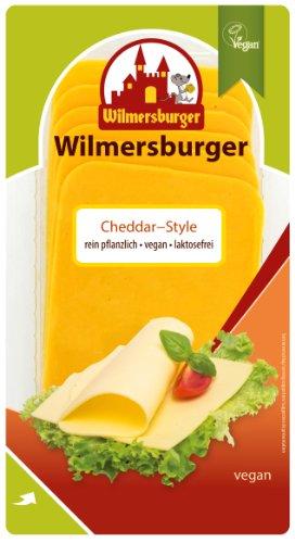 Wilmersburger Scheiben Cheddar - 150 g laktosefreier, veganer Käse