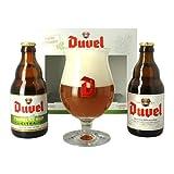 Duvel Tripel Hop Belgian Beer Gift Pack with Duvel Glass