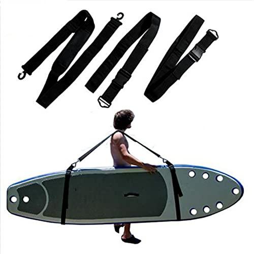 XWSQQ Tablero de Surf Ajustable Llevar Sling Sket Up Paddleboard Strap Sup Board Surf Fins Paddle Wakboard Surfing Kayak Unisex