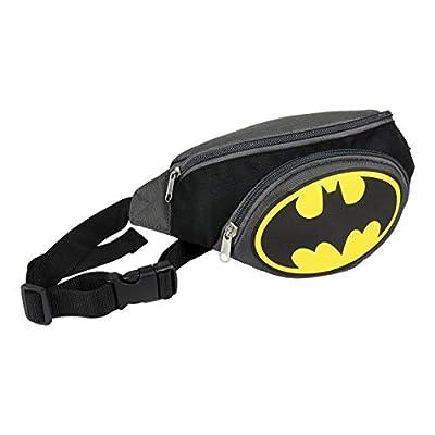 Batman-DC Comics Sac banane enfant garçon Gris/noir 33x12x10cm