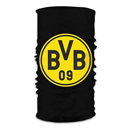 Unisex wiederverwendbare Borussia Dortmund Kopftuch Gesicht Schal Gesichtsschutz Sport Casual Mundschutz Kopfbedeckung Sturmhaube