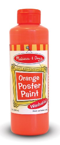 Doug Orange Poster Paint - 1