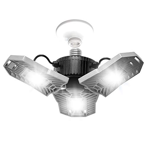 TRI Burst by Bell+Howell High Intensity Lighting with 144 LED Bulb, Multi-Directional Triple Panel Light for Indoor and Outdoor, As Seen On TV (Original)