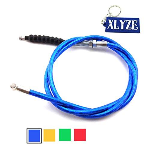 XLYZE Clutch Cable azul para 50cc 110cc 125cc 140cc 150cc 160cc Chinese Pit Dirt Bike Baja SSR TTR SDG Lifan YX CRF50 CRF70 KLX110