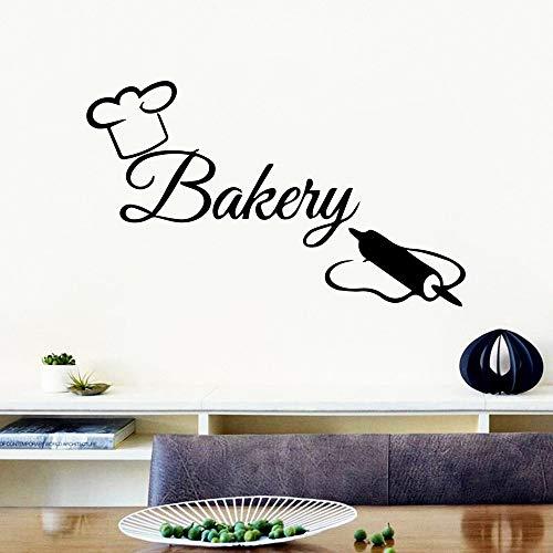 Tianpengyuanshuai Kreative Bäckerei Wandtattoos Home Decoration wasserdichte Wandtattoos 28X32cm