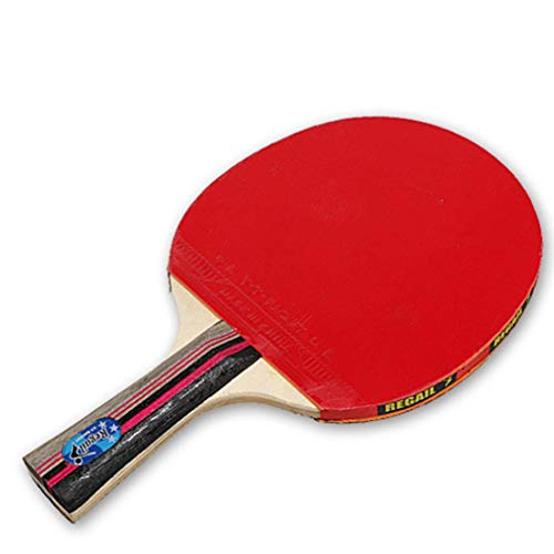 Read About HUATINGRHTT Table Tennis Table Tennis Balls Ping Pong Paddle Pack of 2 Premium Paddles So...
